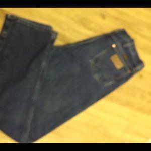 Wrangler jeans in great condition, dark 36 x 36